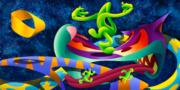 The Mobius Strip Tease by Anthony Ausgang