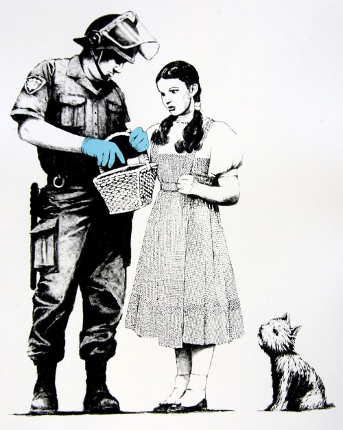 Banksy-Stop_and_Search