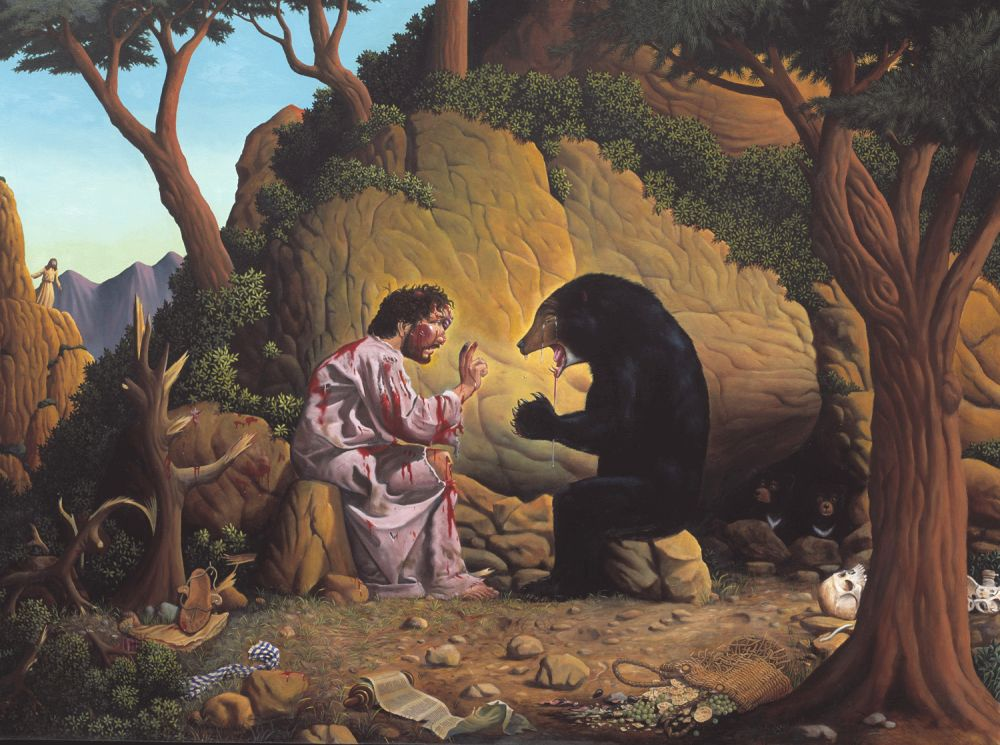 Jim_Woodring-Jesus_and_the_Bear