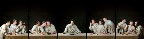 Raoef_Mamedov-The_Last_Supper_Down_Syndrome_Full_Small -- Click for large version